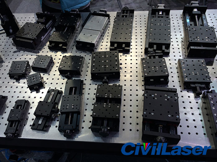 CivilLaser -- Motorized Angle Stages|Optical Mounts tables holders mirror mounts| Multi-Axis combination stages